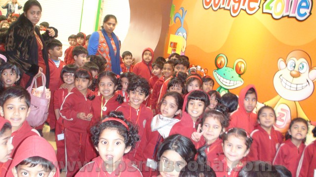 Class Nursery - Trip To Jungle Zone 2014-2015