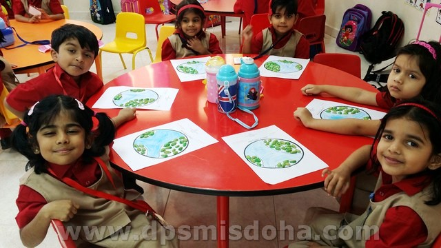 Class Nursery - Earth Day Activity - 2015-2016
