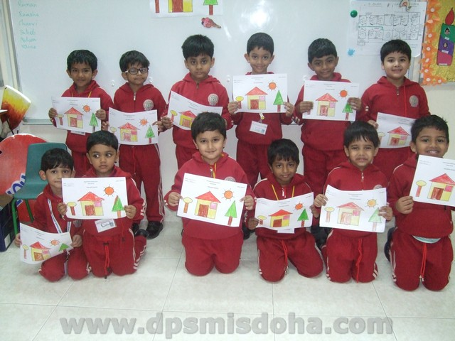 Class Nursery - Fun with Shapes Activity 2014-2015