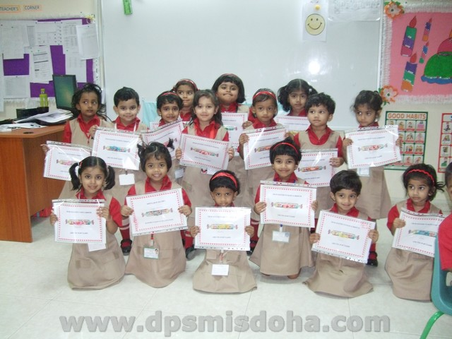 Class Nursery - Smartie Activity 2015-2016