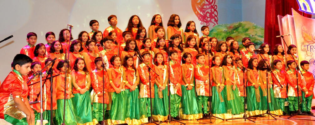 IS - Junior Wing Annual Day Celebrations 2014-2015 ** DPS M